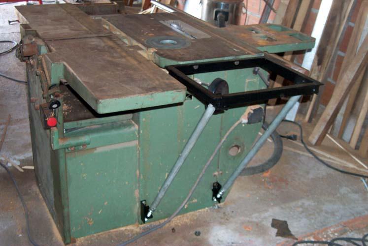 Robland x-31 extension router table frame